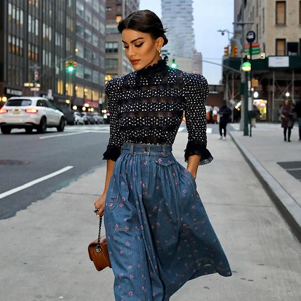 Go Behind-the-Scenes of New York Fashion Week With Camila Coelho