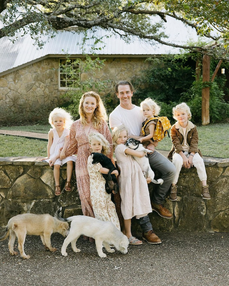 James Van Der Beek, Kimberly Van Der Beek, Family, Kids