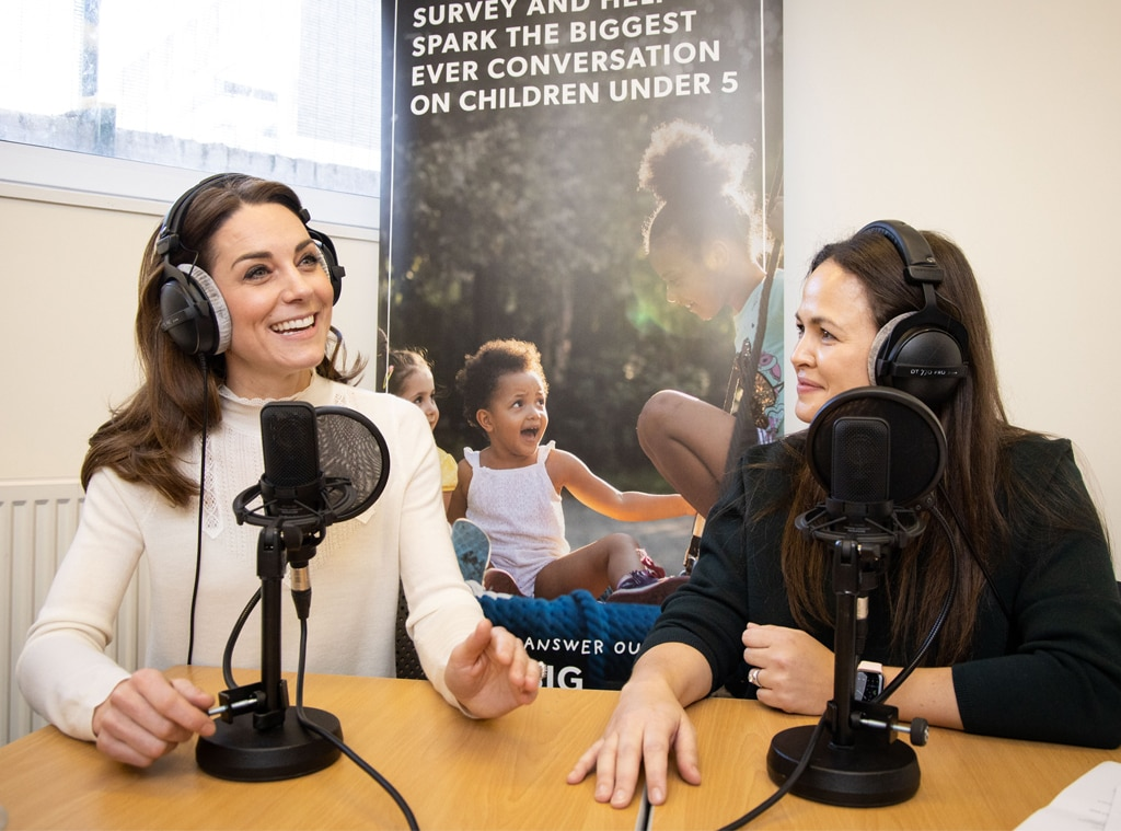 Duchess of Cambridge opens up about parenting in new podcast interview