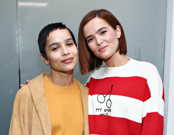 Zoe Kravitz & Zoey Deutch