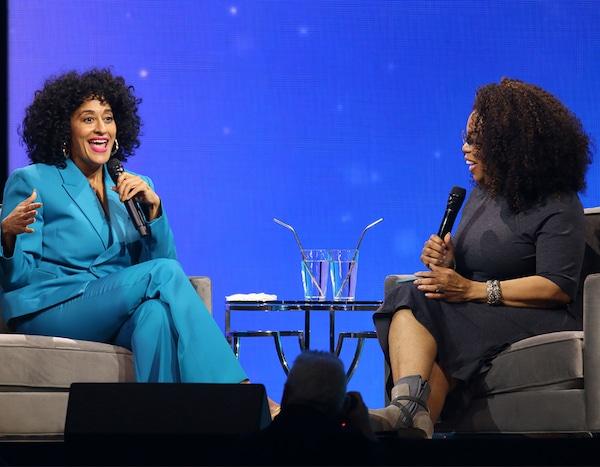 Tracee Ellis Ross & Oprah Winfrey