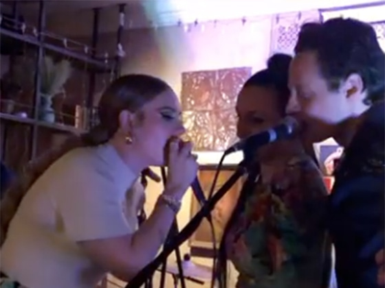 Adele Gives Rare Performance at Her Best Friend's Wedding