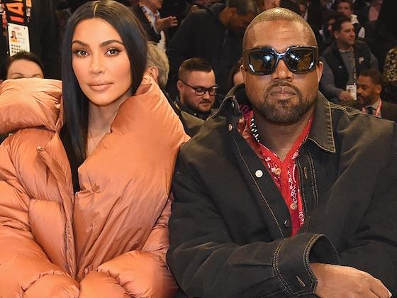 Kim Kardashian and Kanye West Enjoy Date Night at the 2020 NBA All-Star Game