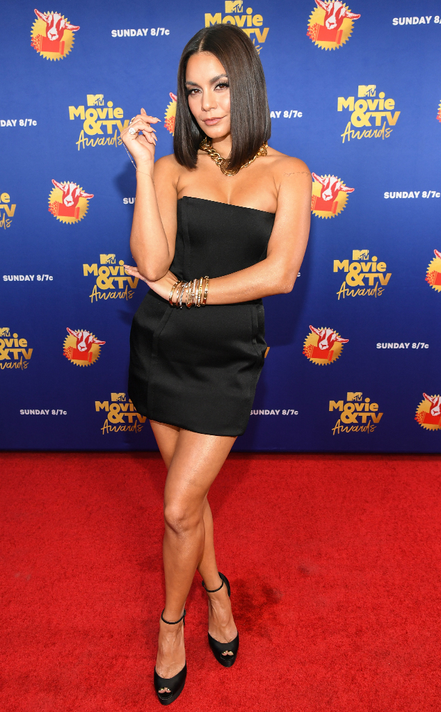 Vanessa Hudgens Gives Posh Spice Vibes at the MTV Movie & TV Awards - E!  Online