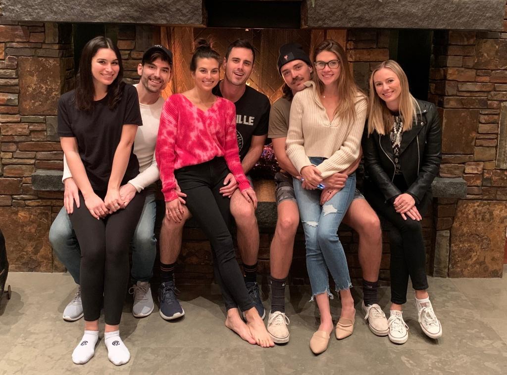 Ben Higgins, Jessica Clarke, Ashley Iaconetti, Jared Haibon, Dean Unglert, Caelynn Miller-Keyes, Valentine's Day 2020