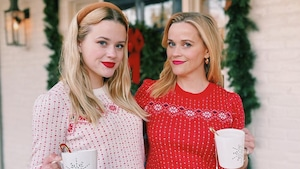 Reese Witherspoon, Ava Phillippe, Christmas