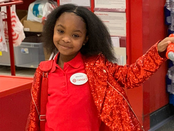 Red Alert: This 8-Year-Old Just Had the Best Birthday Party Inside Target