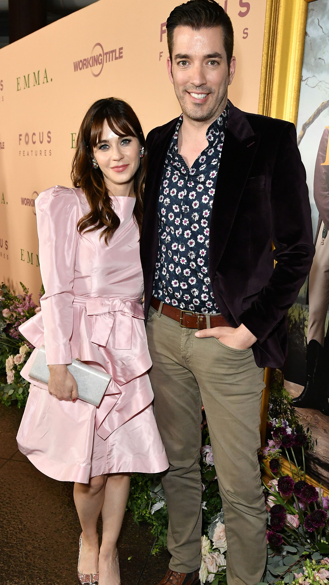 Zooey Deschanel & Jonathan Scott from The Big Picture: Today's Hot Photos