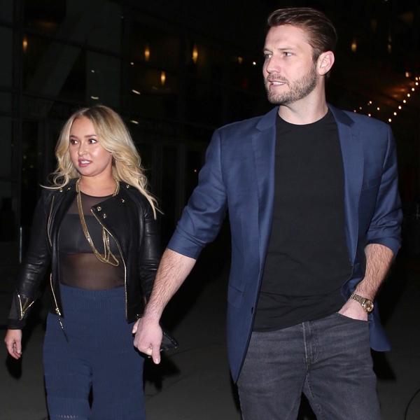 Hayden Panettiere is hand in hand with boyfriend Brian