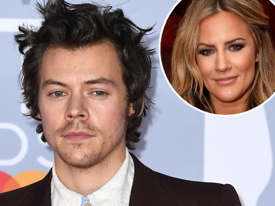 Harry Styles Appears to Honor Late Ex Caroline Flack at the 2020 BRIT Awards
