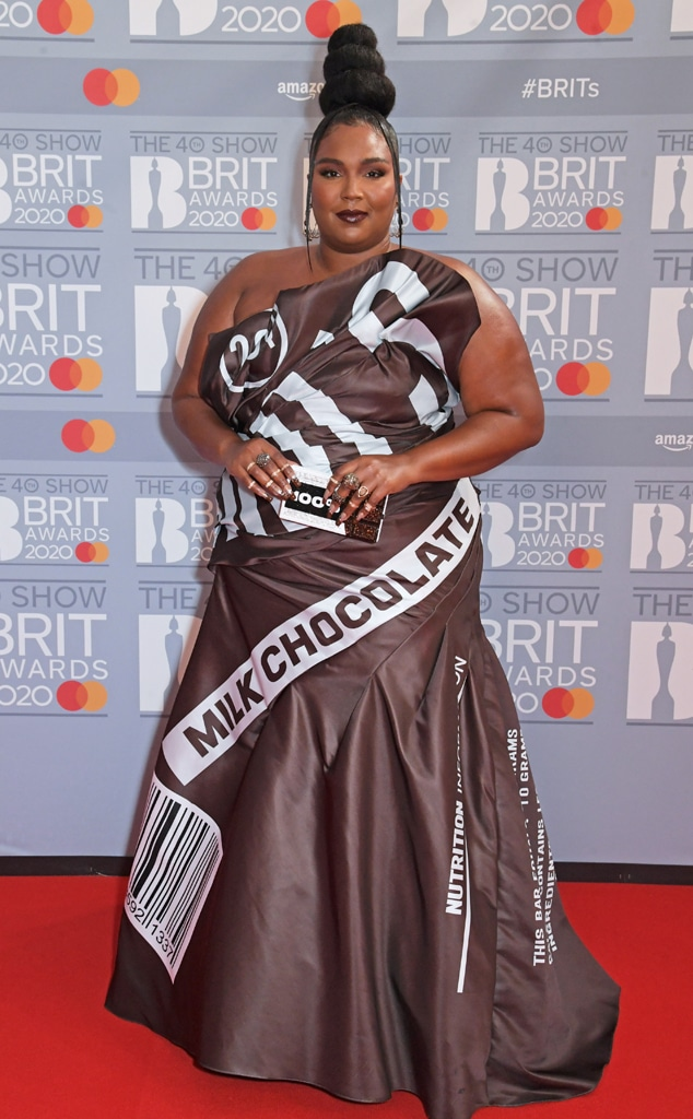 Lizzo, The BRIT Awards 2020