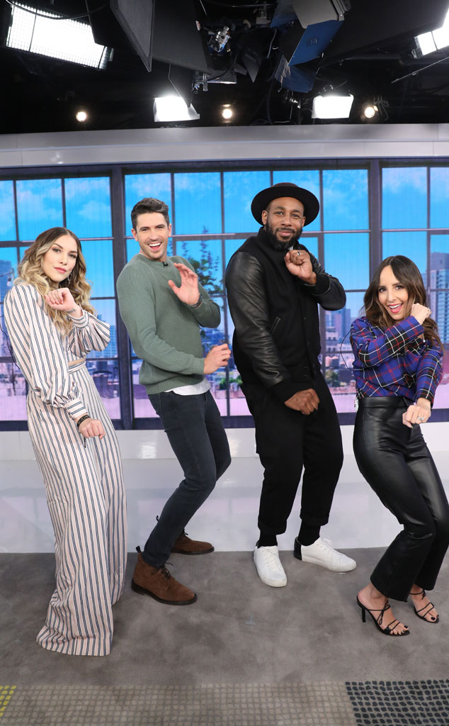 tWitch, Allison Holker, Pop of the Morning