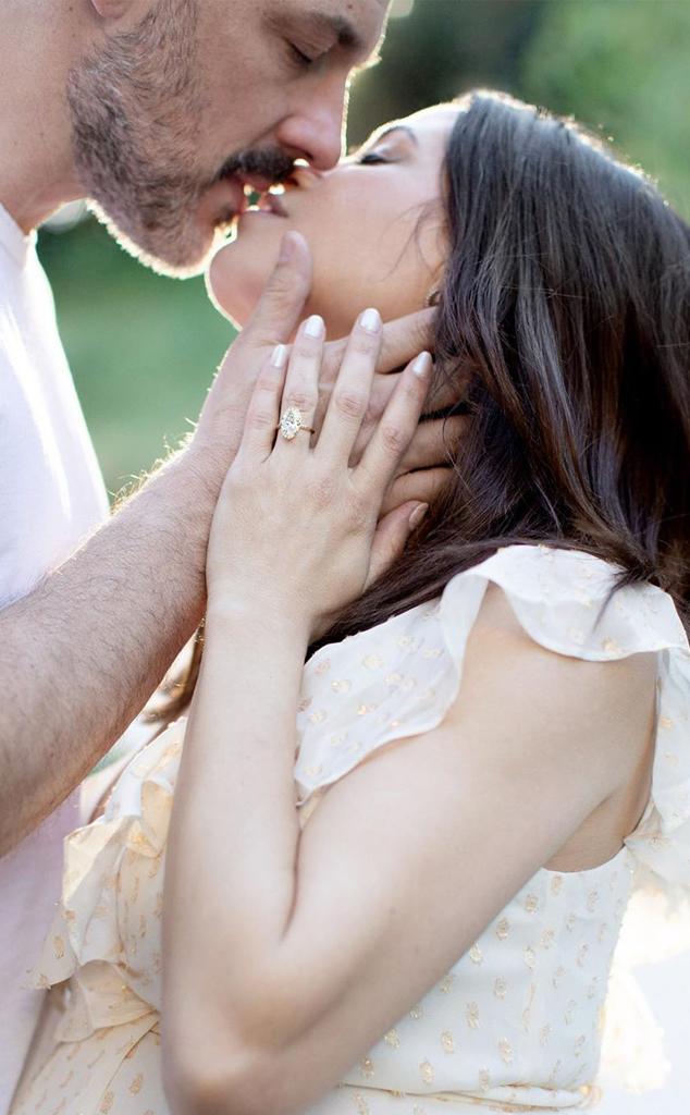 Jenna Dewan, Steve Kazee, engagement