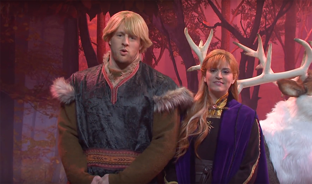 J.J. Watt, Cecily Strong, SNL, Frozen II