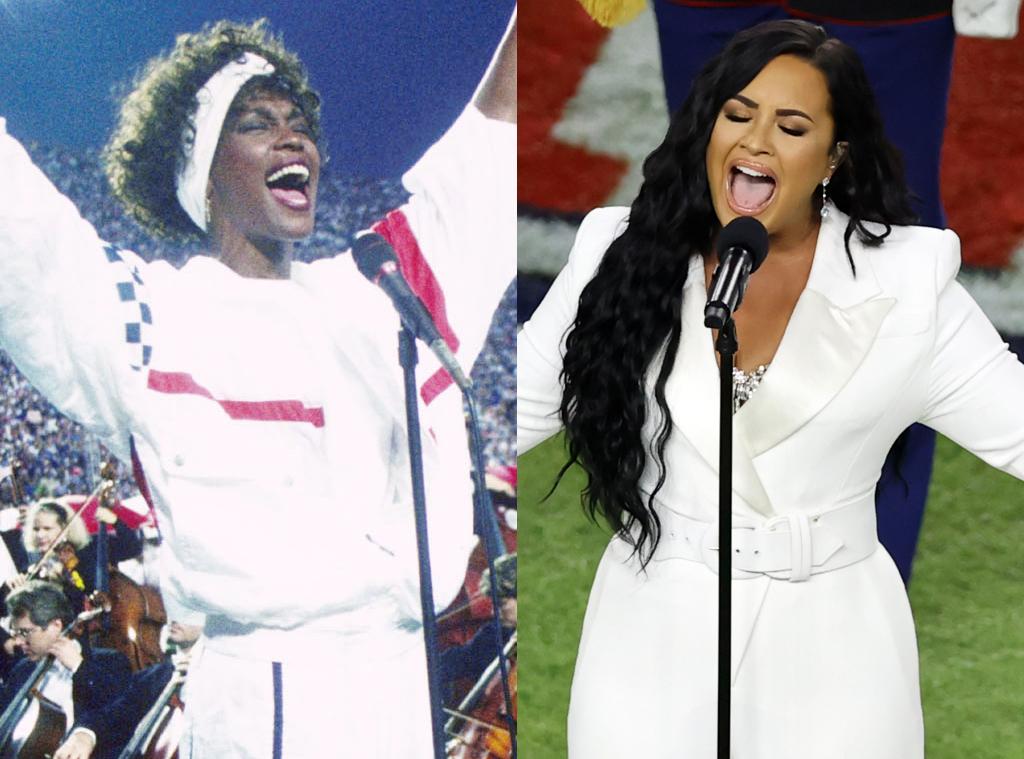 Whitney Houston, Demi Lovato, 2020 Super Bowl
