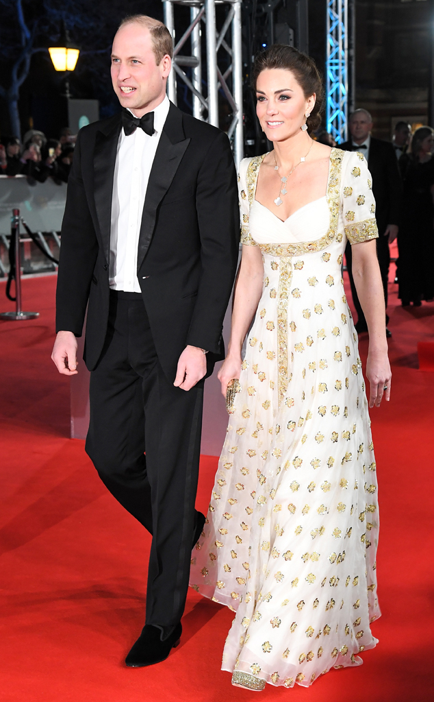 Prince William, Kate Middleton, BAFTA Awards