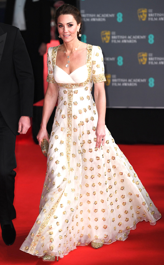 Image result for kate middleton bafta""