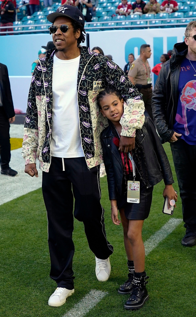 Jay-Z, Blue Ivy, 2020 Super Bowl