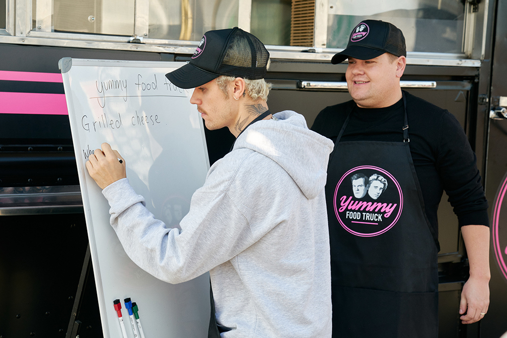 Justin Bieber, James Corden