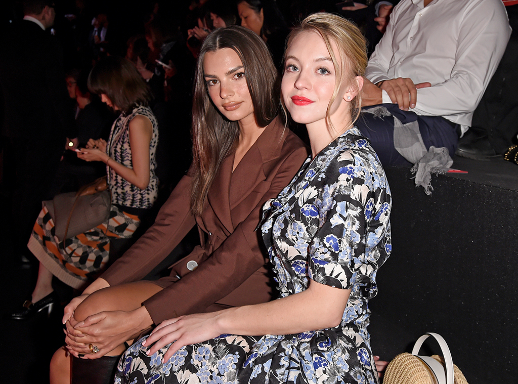 Emily Ratajkowski & Sydney Sweeney from The Big Picture: Today's Hot Photos