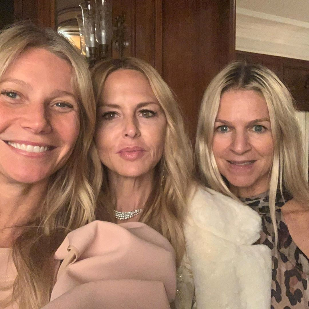 Gwyneth Paltrow Had a Makeup-Free Party with Demi Moore