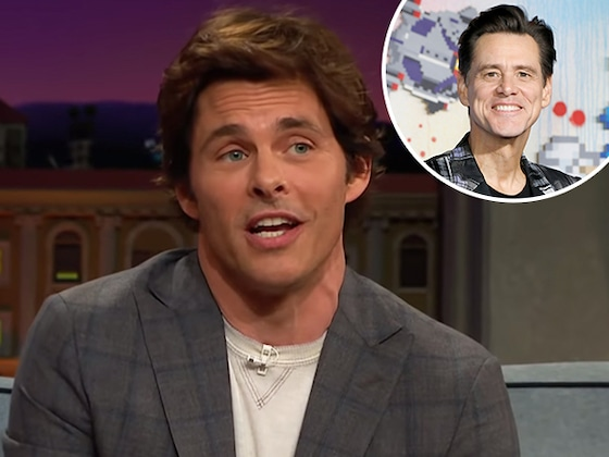 Watch James Marsden Totally Nail Impression of Jim Carrey