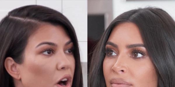 Kim & Kourtney Kardashian Fight in KUWTK Season 18 Promo