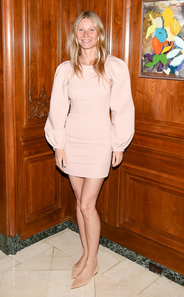 Gwyneth Paltrow, Makeup Free Goop Dinner