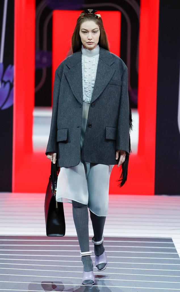 Best Looks at Fashion Week, Fashion Week Widget, Prada