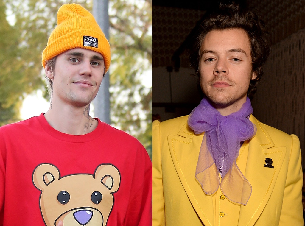 Justin Bieber, Harry Styles