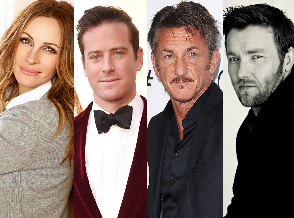 Julia Roberts, Armie Hammer, Sean Penn, Joel Edgerton