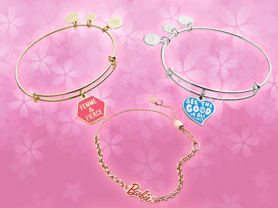 6 Pieces From Alex and Ani's Barbie Collection That Celebrate Girl Power