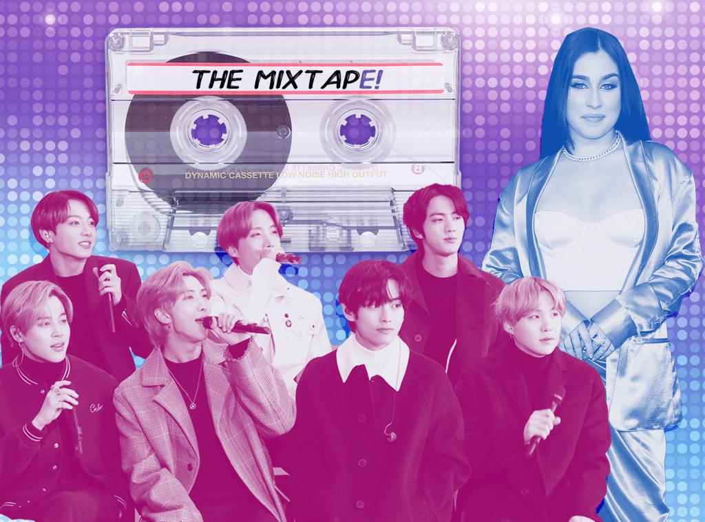 The MixtapE!, BTS, Lauren Jauregui