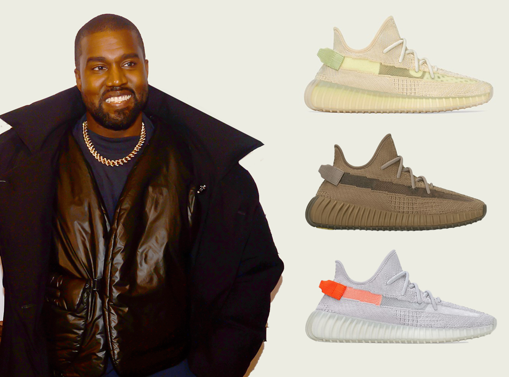 E-Comm: Kanye West, The YEEZY BOOST 350 V2 Flax