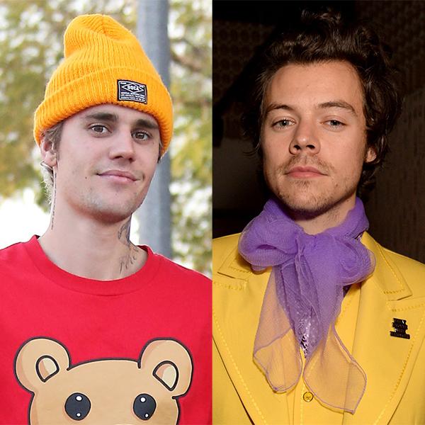 Justin Bieber Asks James Corden If Harry Styles Has More Talent: Watch