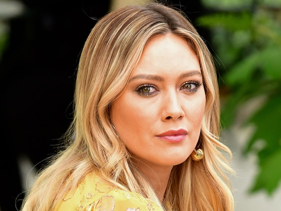 "Hilary Duff Confronts ""Creep"" Who Photographed Kids Playing Football"