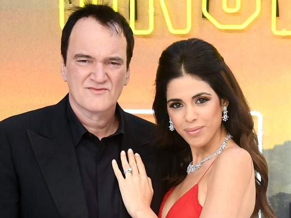 Quentin Tarantino and Wife Daniella Pick Welcome First Child