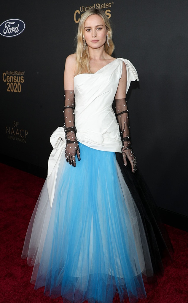 Brie Larson, 2020 NAACP Image Awards, WTF widget