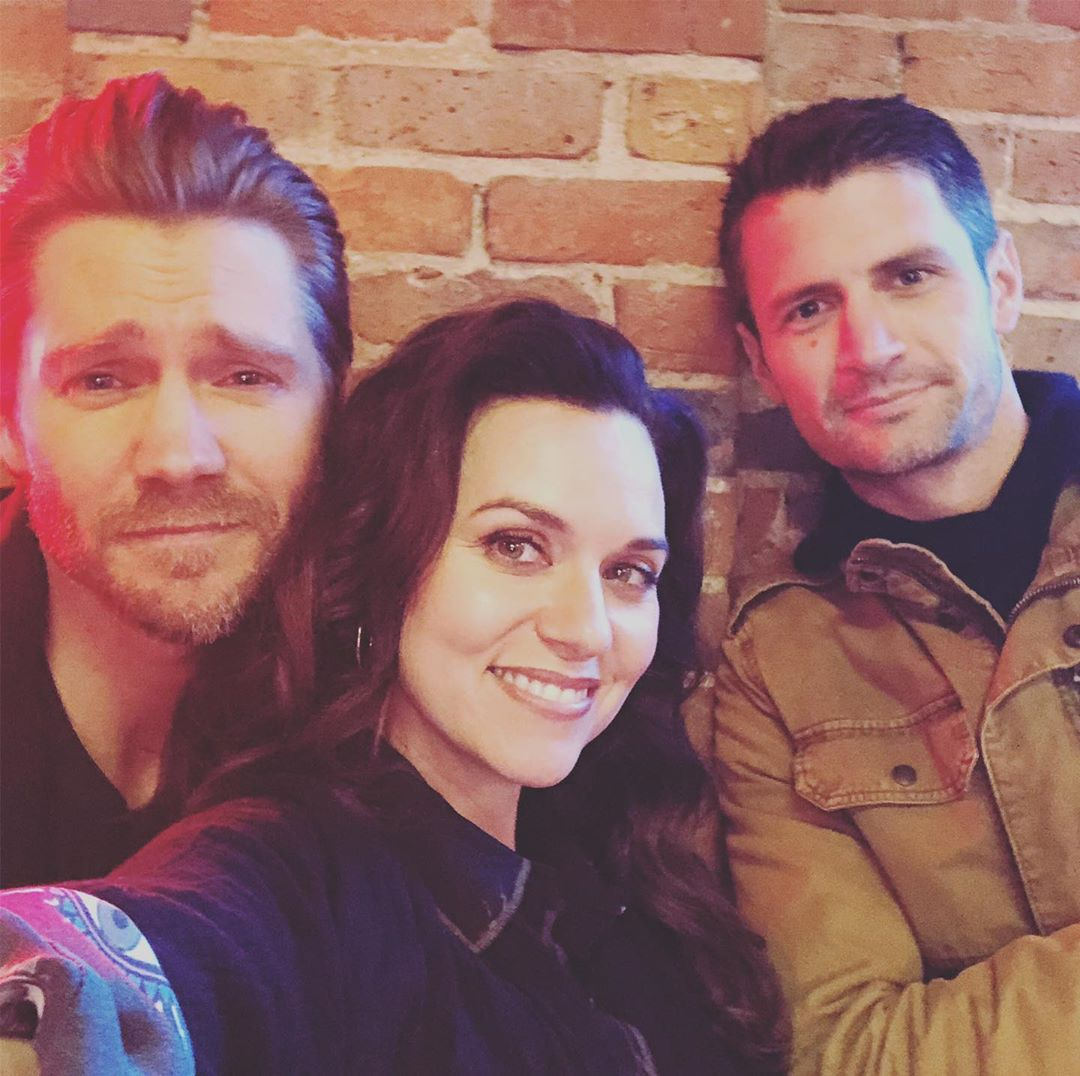 James Lafferty, Chad Michael Murray, Hilarie Burton, One Tree Hill