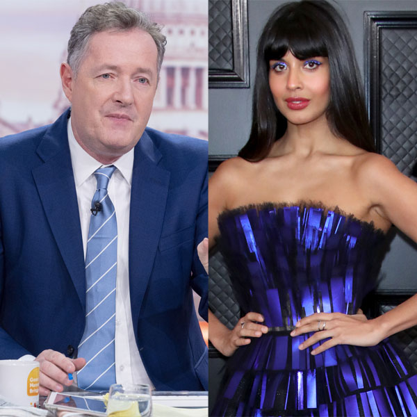 Jameela Jamil Slams Piers Morgan After He Shares Caroline Flack DMs