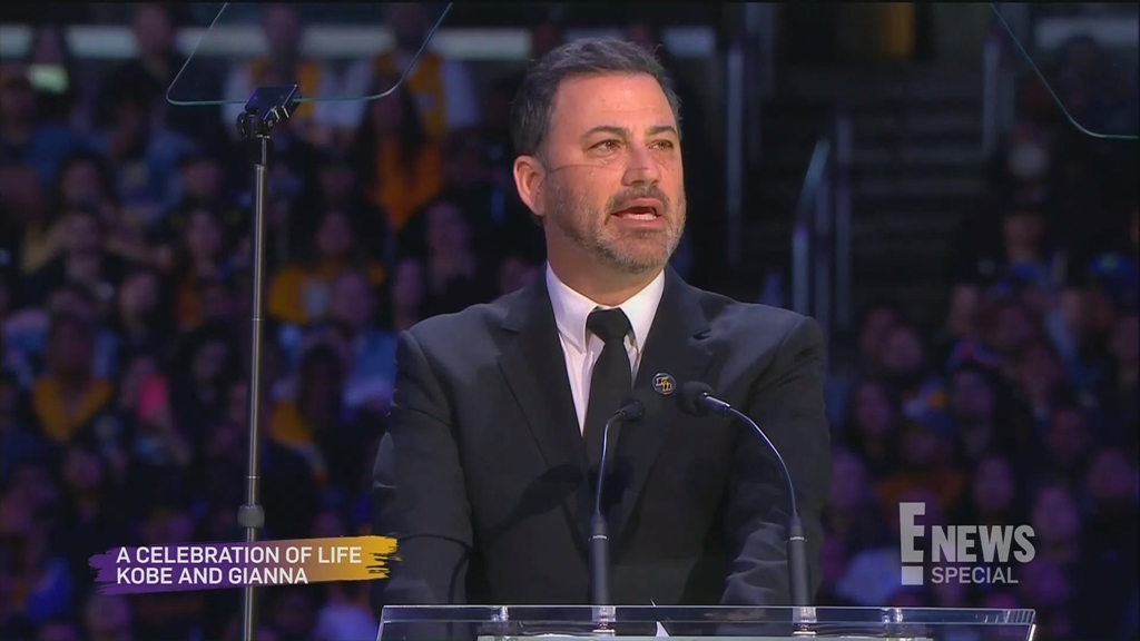 Jimmy Kimmel, Kobe Bryant Memorial