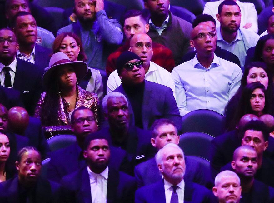 LL Cool J, Celebration of Life, Kobe Bryant, Gianna Bryant, Celebrities