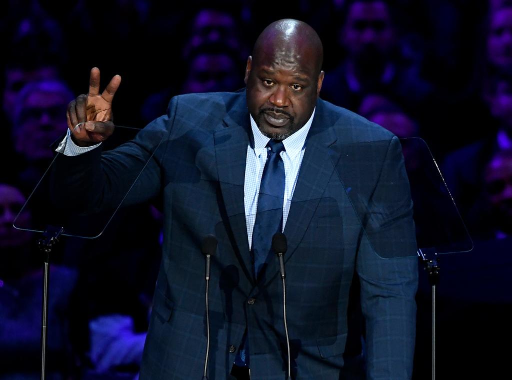 Shaquille O'Neal, Celebration of Life, Kobe Bryant, Gianna Bryant, Celebrities, Lakers