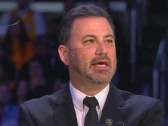 Jimmy Kimmel Honors Kobe and Gianna Bryant With Touching Speech at Memorial