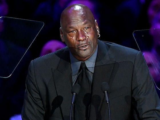 Michael Jordan Jokes About Being ''Another'' Crying Meme in Tearful Kobe Bryant Memorial Speech