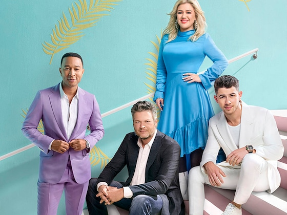 <i>The Voice</i> Coaches Are Doing Their Best Not to Let Newbie Nick Jonas Win
