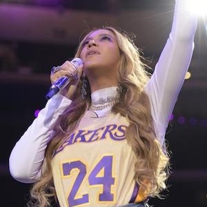 Beyonce, Celebration of Life Rehearsal, Kobe Bryant, Gianna Bryant