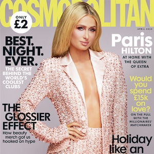 Paris Hilton, Cosmo UK, April 2020