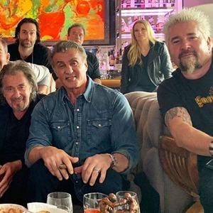 Al Pacino, Sylvester Stallone, Guy Fieri