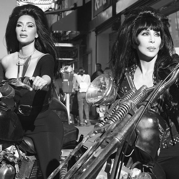 "Kim Kardashian's Photo Shoot With Cher Is a ""Dream Come True"""